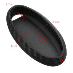 Silicone Carbon Fiber Pattern Style Remote Key Case Fob Cover Case For Nissan Infiniti
