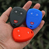 SILICONE 3 BUTTON CAR KEY FOB CASE COVER FOR Buick, Cadillac, Chevy, GMC, Pontiac, Saturn