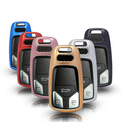 TPU CAR SMART KEY FOB REMOTE Soft COVER CASE SKIN SLEEVE JACKET For Audi A4 A3 TT Q7