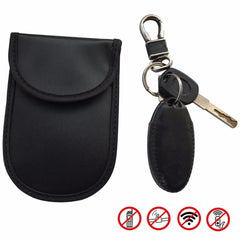 Car Key Fob Signal Blocker Pouch - RFID Blocking, Anti-Theft, Credit Card Protection WIFI/GSM/LTE/NFC/RF -  (2 Pack)