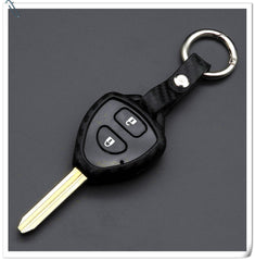 Silicone Carbon Fiber KEY FOB REMOTE COVER CASE SKIN SLEEVE JACKET For Toyota Camry Corolla Avalon Venza 4Runner Rav4