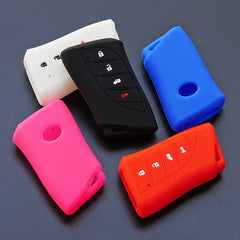 Silicone 4 Button Smart Key Fob