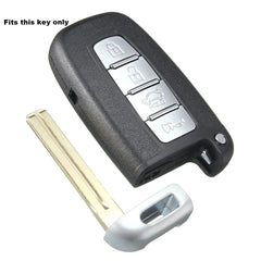HYUNDAI KIA Protective Silicone Rubber 4 Button Remote Key Fob Cover Holder Case Skin (SKU: KIAHYUS4A)