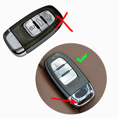 Silicone 3 Button Key Fob Remote Cover Case Jacket Skin For Audi A3 A4 A5 A6 S4 S5 Q5