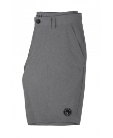 RADAR RAMBLER - HEATHER GREY HYBRID SHORTS - 36""