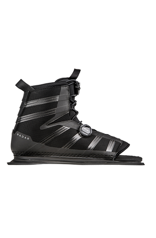 RADAR VECTOR BOA BOOT - CARBON/BLACK - FRONT ALUMINUM PLATE
