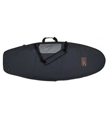 DEMPSEY SURF BAG HEATHER CHARCOAL/ORANGE