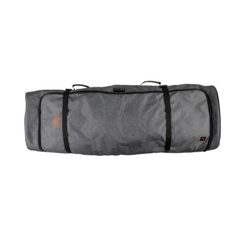 LINKS PADDED WHEELIE BOARD BAG HEATHER CHARCOAL/ORANGE