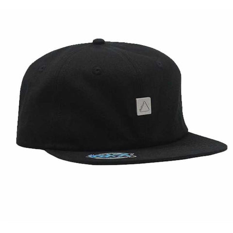 FOLLOW STAMPED FORMLESS CAP - OSFM - BLACK