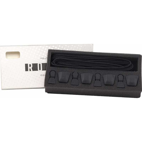 RONIX AUTOLOCK KIT - BLACK (SET OF 4 LACES AND AUTOLOCKS)