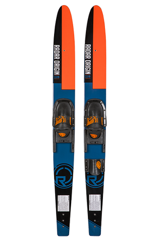 RADAR 67 - ORIGIN COMBOS W / ADJ HORSESHOE BINDINGS - BLACK/BLUE/ORANGE