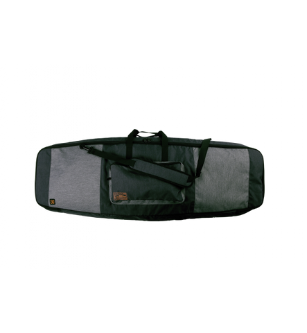 BATTALION PADDED BOARD BAG HEATHER CHARCOAL/ORANGE