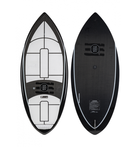 RONIX CARBON AIR CORE 3 - THE SKIMMER - BLACK/WHITE