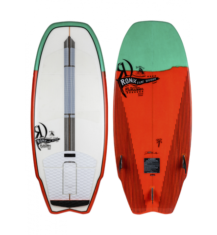 RONIX KOAL W/TECHNORA CROSSOVER - WHITE/GREEN/RED - SIZE 4'5""