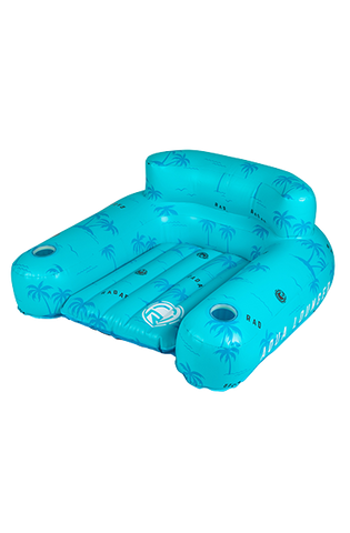 RADAR AQUA LOUNGER - BLUE PALMS