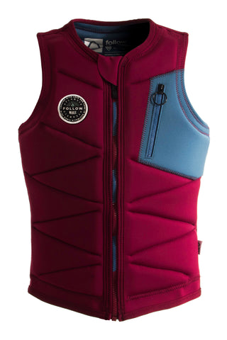 ATLANTIS LADIES IMPACT JACKET BURGUNDY
