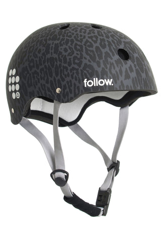 FOLLOW PRO GRAPHIC HELMET LEOPARD