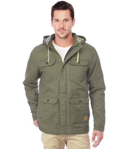 REEF RIVER JACKET OLIVE