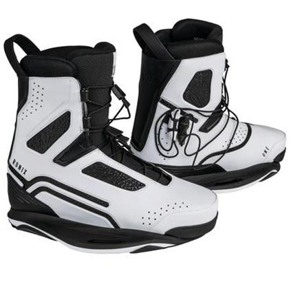RONIX ONE BOOT INTUITION SIZE 6-7 METALLIC WHITE