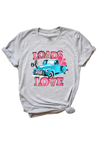 Loads Of Love T-Shirt / Valentine's Day T-Shirt or day to day.-T-Shirts-TERRA COTTA BOUTIQUE