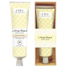Citrine Beach Body Milk Travel Lotion, 2 oz.