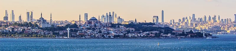 Istanbul from the sea