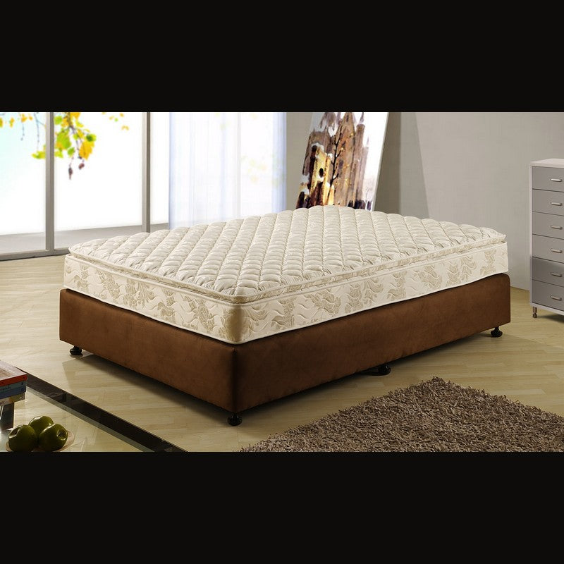 Arabella Quilted Pillow Top Mattress by Baotian, in 2 Sizes - NuvoItalia