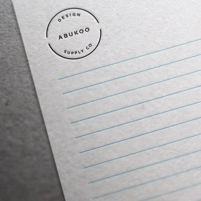 picture about Free Printable Notebook Paper referred to as Totally free Printable Included Letter Paper - Abukoo