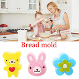 3Pcs/Set Sandwich Toast Crust Cookie Cutter Bread Mold Cake Biscuit Maker Tools - shopylara