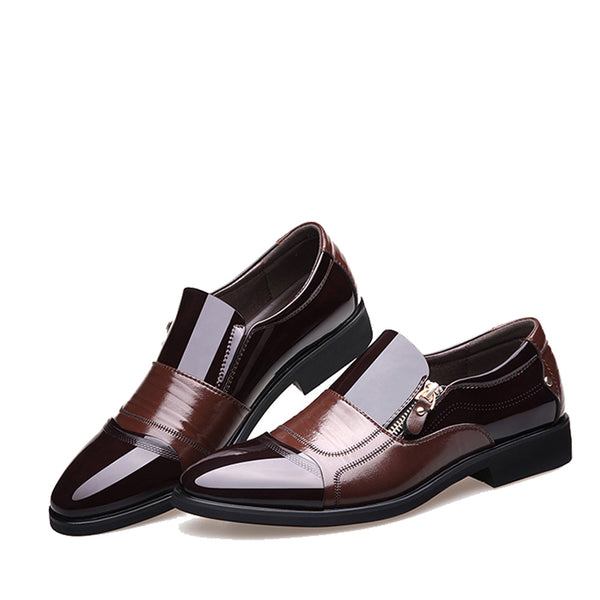 New Fashion Oxford Business Men Shoes Genuine Leather High Quality - shopylara