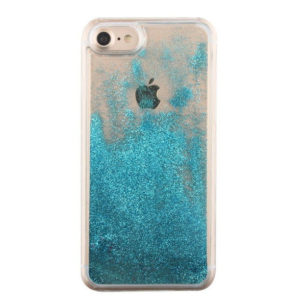 Glitter Stars Liquid Case For iPhone 5 5S SE 6 6S 7 Plus Case - shopylara