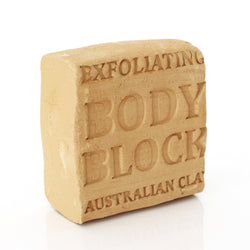 Clay Block for Body 100g (brown)