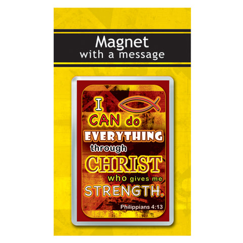 I Can Do Everything Phil 4:13 Magnet