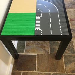 Lego Table - Grass, Sand and Road