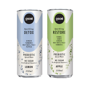 Buy Combo of Detox and Restore Water Online | OSOM Sparkling Water