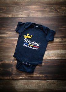 Tricolour Runs in the Family - Baby Onesie
