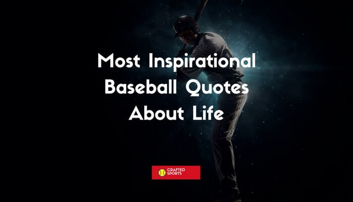 Baseball Quotes About Life Most Inspirational Baseball Quotes About Life – Crafted Sports Baseball Quotes About Life