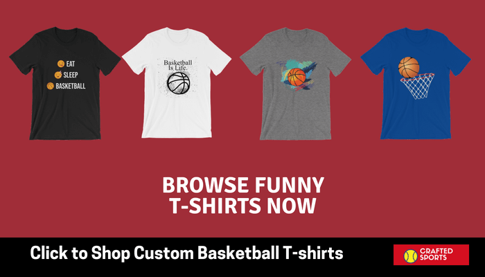 Funny basketball sports t-shirts