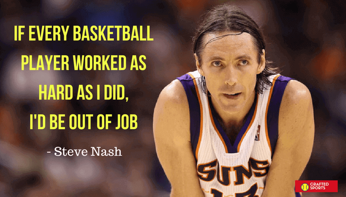 Basketball Quotes by Steve Nash