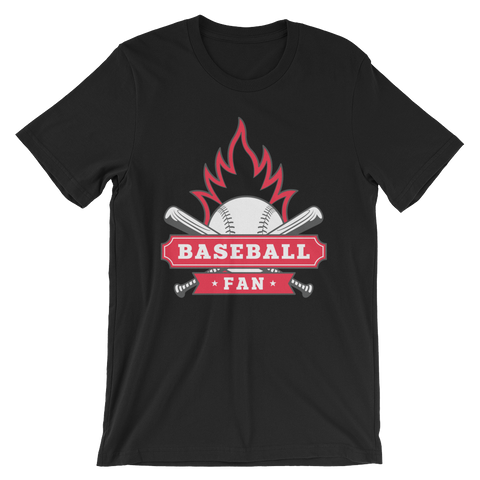 Baseball Fan Fire T-Shirt