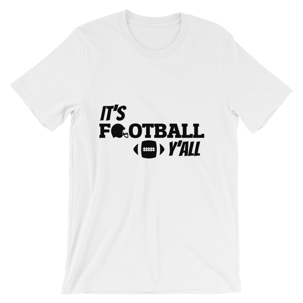 It's Football Y'all - Crafted Sports