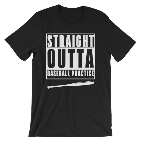 Straight Outta Baseball Practice - Crafted Sports