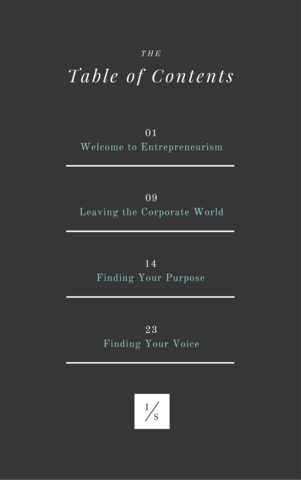 eBook: Finding Purpose in Entrepreneurism - Independent She - eBook