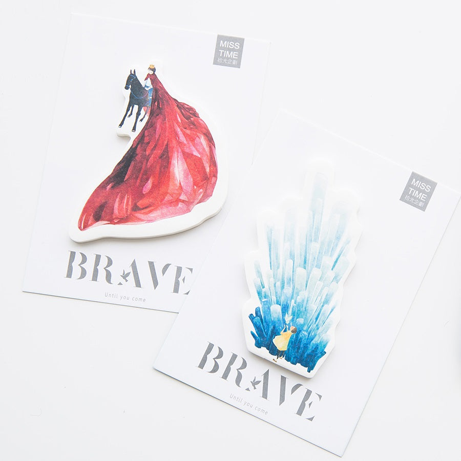 Brave Sticky Notes - 4 pack! - A Paper by Independent She