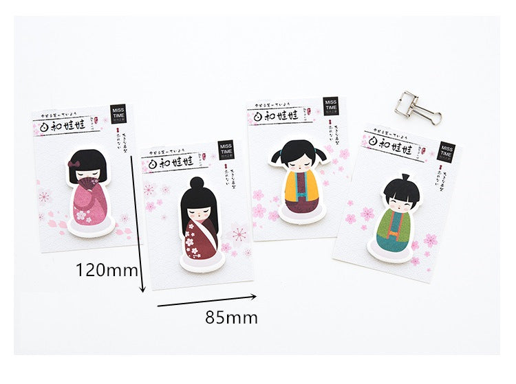 Geisha Sticky Notes - 4 pack! - A Paper by Independent She