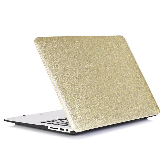 "Glitter Hard Case for Macbook Laptop (13""-15"") - A Office by Independent She"