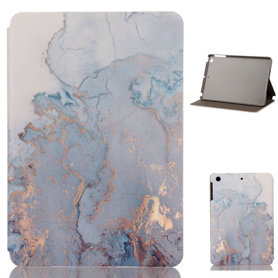 iPad Watercolor Marble Protective Case - A Office by Independent She