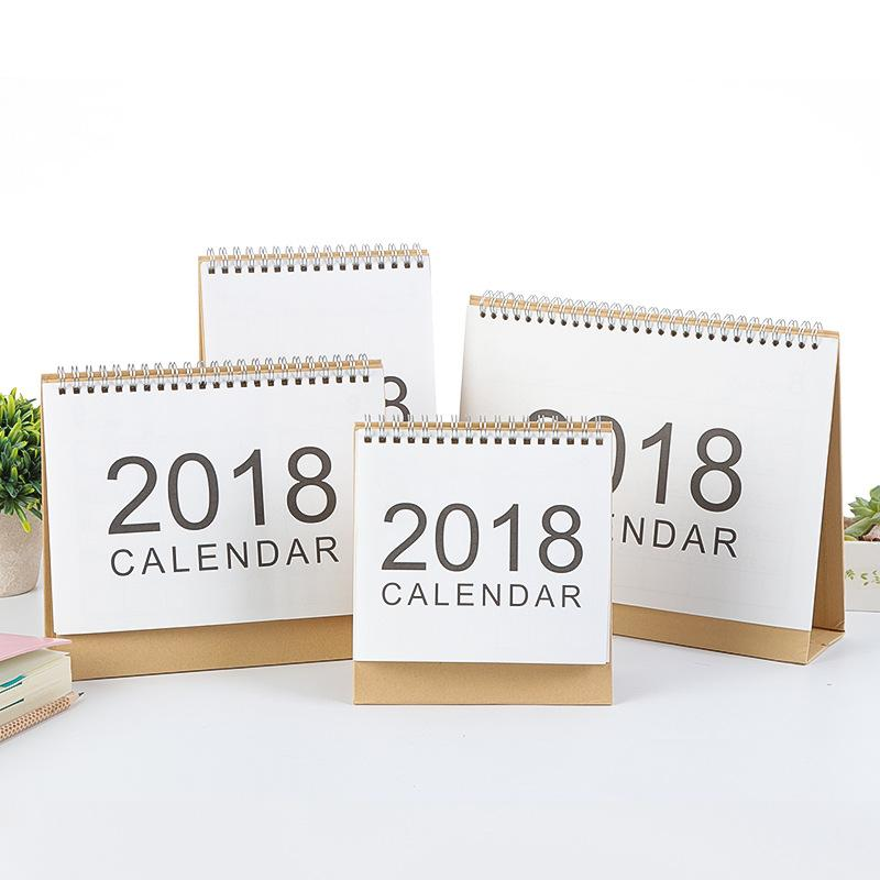 2018 Clean & Classic Desk Calendar - A Paper by Independent She