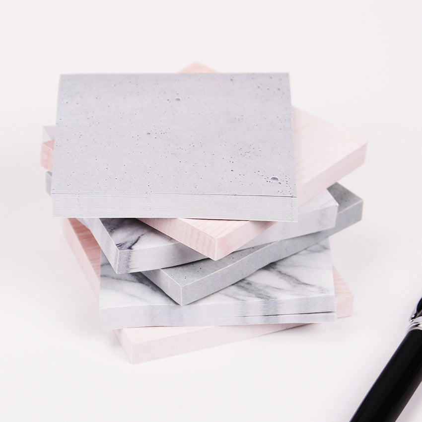 Glamorous Marble Sticky Notes - A Paper by Independent She