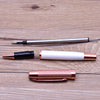 Rose Gold 0.5mm Copper Ballpoint Pen & Gift Case - A Office by Independent She